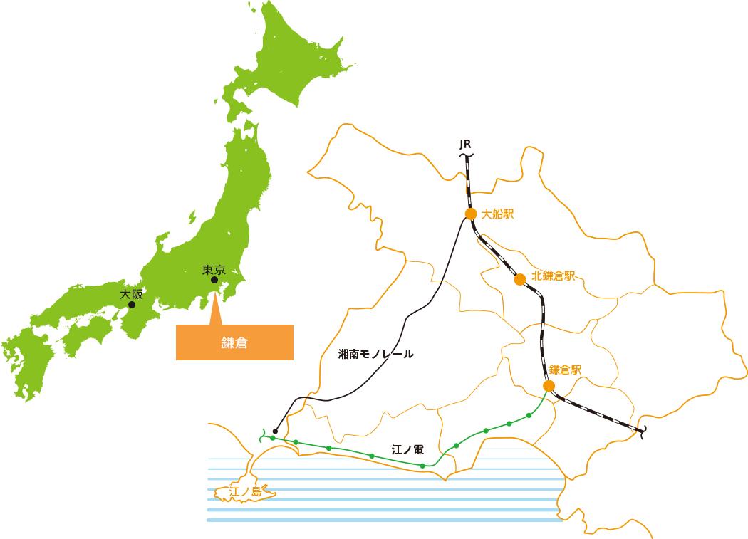 鎌倉市地図