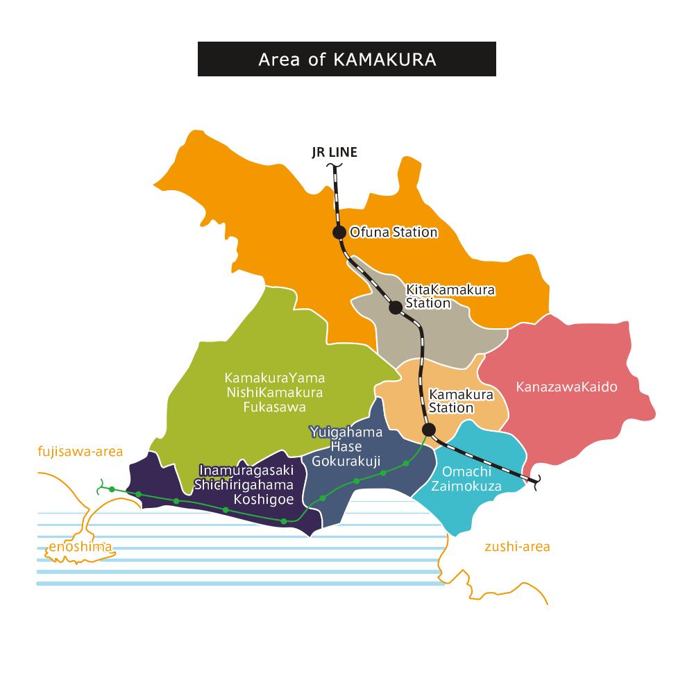 Area of KAMAKURA